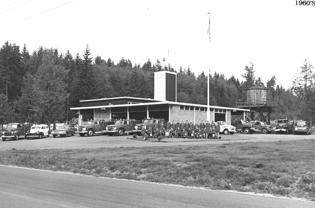 Station 22 in the early 1960's